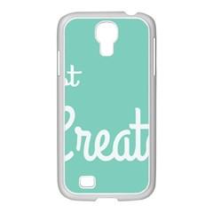 Bloem Logomakr 9f5bze Samsung Galaxy S4 I9500/ I9505 Case (white)