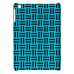 Woven1 Black Marble & Turquoise Colored Pencil Apple Ipad Mini Hardshell Case by trendistuff
