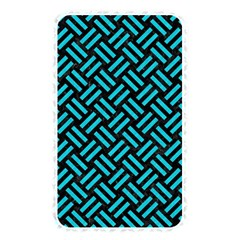 Woven2 Black Marble & Turquoise Colored Pencil (r) Memory Card Reader by trendistuff