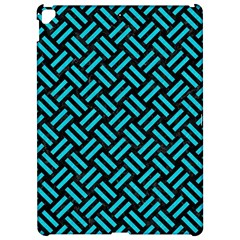 Woven2 Black Marble & Turquoise Colored Pencil (r) Apple Ipad Pro 12 9   Hardshell Case by trendistuff