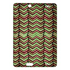 Zig Zag Multicolored Ethnic Pattern Amazon Kindle Fire Hd (2013) Hardshell Case by dflcprintsclothing