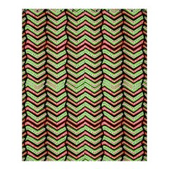 Zig Zag Multicolored Ethnic Pattern Shower Curtain 60  X 72  (medium)  by dflcprintsclothing