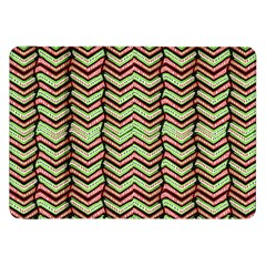 Zig Zag Multicolored Ethnic Pattern Samsung Galaxy Tab 8 9  P7300 Flip Case by dflcprintsclothing