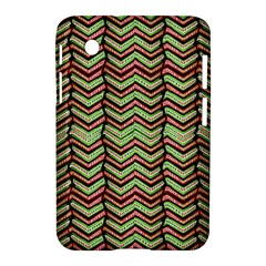 Zig Zag Multicolored Ethnic Pattern Samsung Galaxy Tab 2 (7 ) P3100 Hardshell Case  by dflcprintsclothing