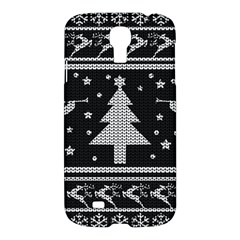 Ugly Christmas Sweater Samsung Galaxy S4 I9500/i9505 Hardshell Case by Valentinaart