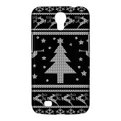 Ugly Christmas Sweater Samsung Galaxy Mega 6 3  I9200 Hardshell Case by Valentinaart