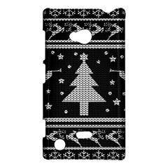 Ugly Christmas Sweater Nokia Lumia 720 by Valentinaart