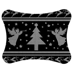 Ugly Christmas Sweater Jigsaw Puzzle Photo Stand (bow) by Valentinaart