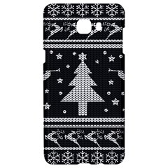 Ugly Christmas Sweater Samsung C9 Pro Hardshell Case  by Valentinaart