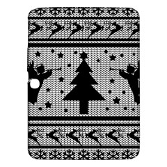 Ugly Christmas Sweater Samsung Galaxy Tab 3 (10 1 ) P5200 Hardshell Case  by Valentinaart