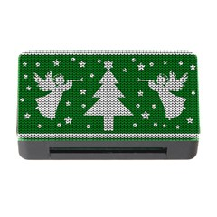 Ugly Christmas Sweater Memory Card Reader With Cf by Valentinaart