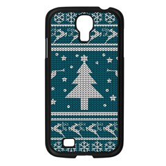 Ugly Christmas Sweater Samsung Galaxy S4 I9500/ I9505 Case (black) by Valentinaart