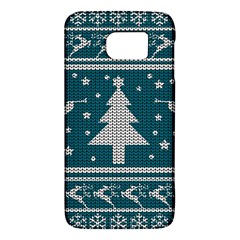 Ugly Christmas Sweater Galaxy S6 by Valentinaart