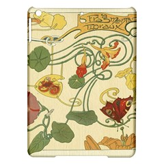 Floral Art Nouveau Ipad Air Hardshell Cases by 8fugoso