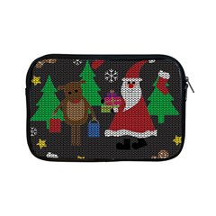 Ugly Christmas Sweater Apple Ipad Mini Zipper Cases by Valentinaart