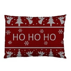 Ugly Christmas Sweater Pillow Case (two Sides) by Valentinaart