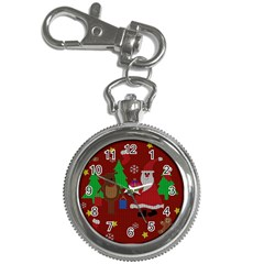 Ugly Christmas Sweater Key Chain Watches by Valentinaart