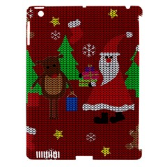Ugly Christmas Sweater Apple Ipad 3/4 Hardshell Case (compatible With Smart Cover) by Valentinaart