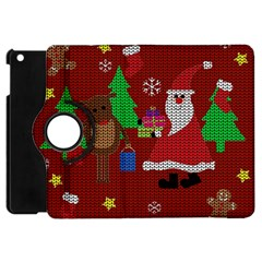 Ugly Christmas Sweater Apple Ipad Mini Flip 360 Case by Valentinaart