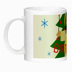 Jesus   Christmas Night Luminous Mugs by Valentinaart