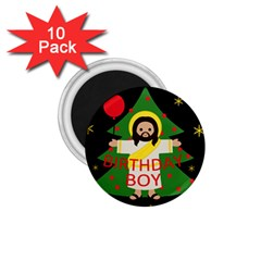 Jesus   Christmas 1 75  Magnets (10 Pack)  by Valentinaart