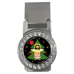 Jesus   Christmas Money Clips (cz)  by Valentinaart