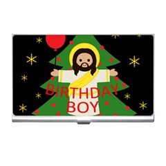 Jesus   Christmas Business Card Holders by Valentinaart
