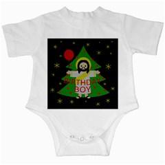 Jesus   Christmas Infant Creepers