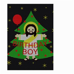 Jesus   Christmas Small Garden Flag (two Sides) by Valentinaart