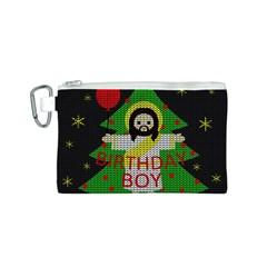 Jesus   Christmas Canvas Cosmetic Bag (s) by Valentinaart