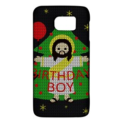 Jesus   Christmas Galaxy S6 by Valentinaart