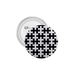 Puzzle1 Black Marble & White Leather 1 75  Buttons by trendistuff