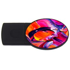 Abstract Acryl Art Usb Flash Drive Oval (4 Gb) by tarastyle