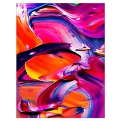 Abstract Acryl Art Drawstring Bag (large) by tarastyle