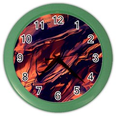 Abstract Acryl Art Color Wall Clocks by tarastyle
