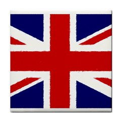 Union Jack Pencil Art Face Towel by picsaspassion