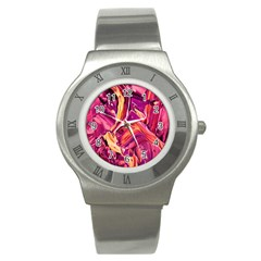 Abstract Acryl Art Stainless Steel Watch by tarastyle