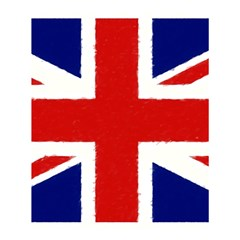 Union Jack Watercolor Drawing Art Shower Curtain 60  X 72  (medium)  by picsaspassion