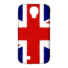 Union Jack Watercolor Drawing Art Samsung Galaxy S4 Classic Hardshell Case (pc+silicone) by picsaspassion
