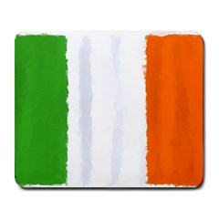 Flag Ireland, Banner Watercolor Painting Art Large Mousepads by picsaspassion