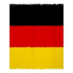 German Flag, Banner Deutschland, Watercolor Painting Art Shower Curtain 60  X 72  (medium)  by picsaspassion