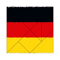 German Flag, Banner Deutschland, Watercolor Painting Art Acrylic Tangram Puzzle (6  X 6 ) by picsaspassion