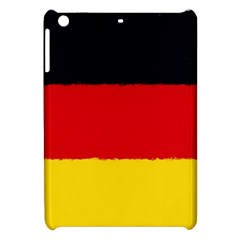 German Flag, Banner Deutschland, Watercolor Painting Art Apple Ipad Mini Hardshell Case by picsaspassion