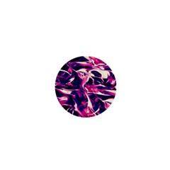 Abstract Acryl Art 1  Mini Buttons by tarastyle