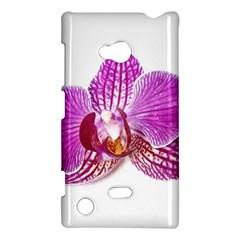 Lilac Phalaenopsis Aquarel  Watercolor Art Painting Nokia Lumia 720 by picsaspassion