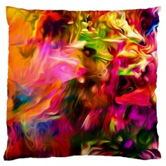 Abstract Acryl Art Large Cushion Case (one Side) by tarastyle