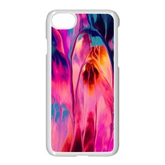 Abstract Acryl Art Apple Iphone 8 Seamless Case (white) by tarastyle