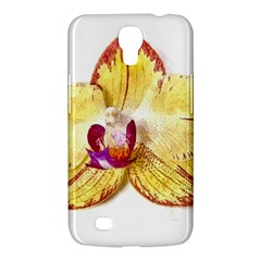 Yellow Phalaenopsis Flower, Floral Aquarel Watercolor Painting Art Samsung Galaxy Mega 6 3  I9200 Hardshell Case by picsaspassion