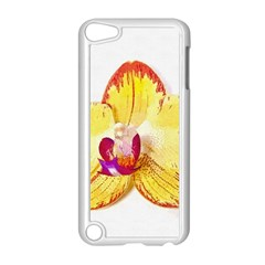 Phalaenopsis Yellow Flower, Floral Oil Painting Art Apple Ipod Touch 5 Case (white) by picsaspassion