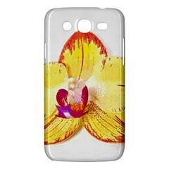 Phalaenopsis Yellow Flower, Floral Oil Painting Art Samsung Galaxy Mega 5 8 I9152 Hardshell Case  by picsaspassion